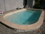 Chantier de MIRABEL - Construction d'une piscine -