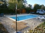 Chantier de Saint Privat - Construction d'une piscine -